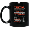 Live In The Moment - Laugh More And Choose Happy Cycling Mug