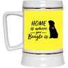 Nice Beagle Mug - Home Is Where Your Beagle Is, is a cool gift