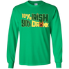 10% Irish 90% Drunk German Shepherd T Shirt