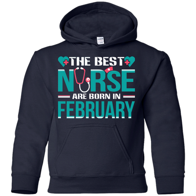 Nice Nurse T Shirt - The Best Nurses Are Born In February, cool gift