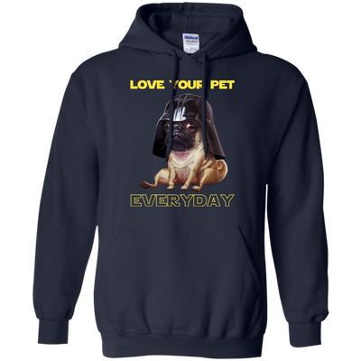 Nice Pug T Shirt - National Love Your Pet Star War Style, nice gift