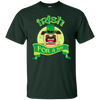 Nice Pug T Shirt - Irish For A Day, is a cool gift for your friends