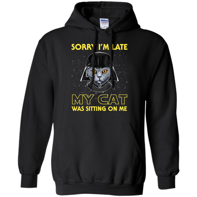 Nice Cat T Shirt - Sorry, My Cat Is Sitting On Me, is a cool gift