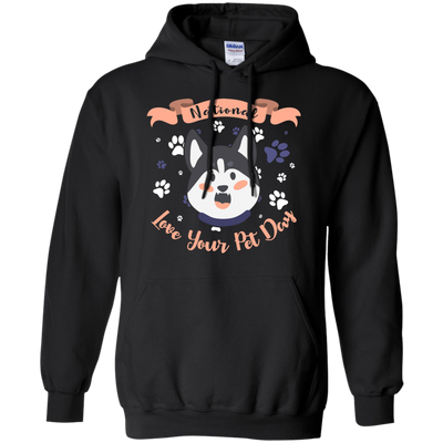 Nice Husky T Shirt - National Love Your Pet Day, is a cool gift