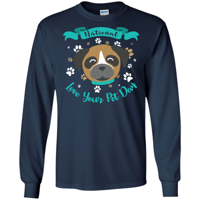 Nice Boxer T Shirt - National Love Your Pet Day, is a cool gift