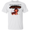 Don't Let Anyone Ever Dull Your Sparkle Dachshund T Shirt