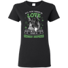 Nice German Shepherd T Shirt - All You Need Is Love And German Shepherd St Patrick