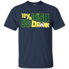 10% Irish 90% Drunk Husky T Shirt