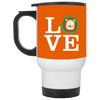 Nice Lion Mug - Love Lion, is a cool gift for your friends
