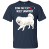 Low Battery Need Samoyed T Shirt
