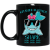 Deep Sea Lovely Color Granddaughter Shark Mug