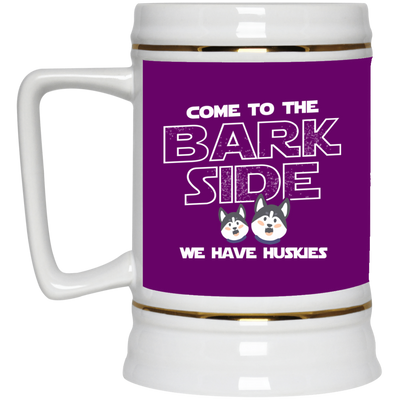 Nice Husky Mug - Come To The Bark Side We Have Huskies, nice gift