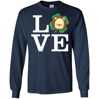 Nice Lion T Shirt - Love Lion, is a cool gift for your friends