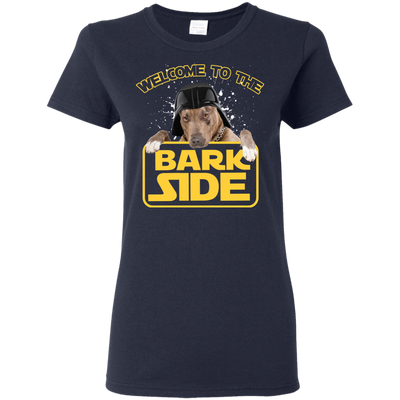 Amazing Pitbull Tshirts Welcome To The Bark Side T Shirt