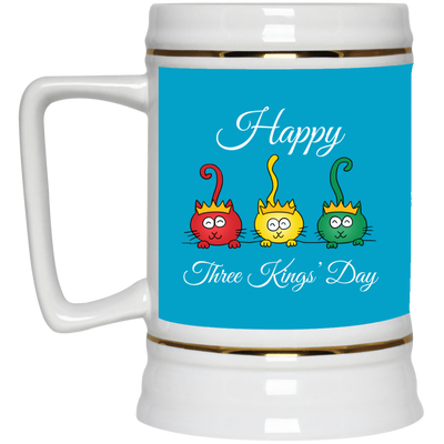 Nice Cat Mug - Three Kings' Day Cat, is a cool gift for friends