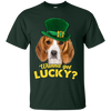 Nice Beagle T Shirt - Wanna Get Lucky, is a cool gift for friends