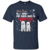 Cool Dog T Shirt Dear Santa All I Want For Christmas Is Samoyeds