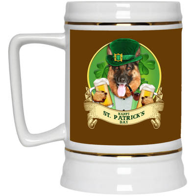 Nice German Shepherd Mug - Happy St Patrick's Day, is an awesome gift