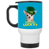 Nice Chihuahua Mug - Wanna Get Lucky, is a cool gift for friends