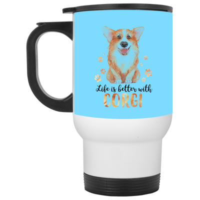 Nice Corgi Mug - Life Is Better With Corgi, is a awesome gift