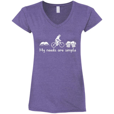 Book Cycling Beer Woman T Shirt