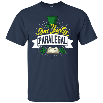 One Lucky Paralegal T Shirt