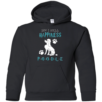 How I Spell Happiness Poodle T Shirt