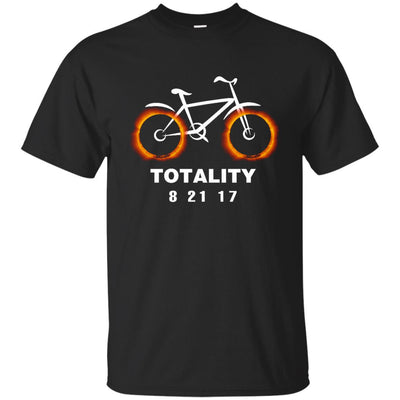 Solar Eclipse Cycling Funny T Shirt