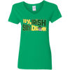 10% Irish 90% Drunk Schnauzer T Shirt