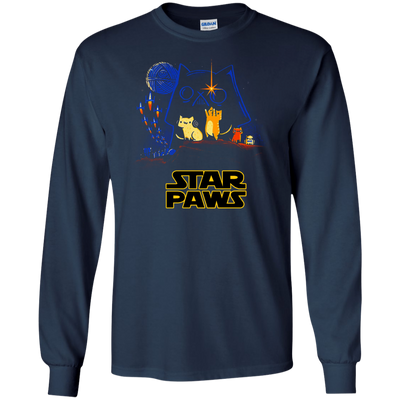 Custom Lovely Cat T Shirt Star Paws For Everyone