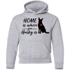 Nice Husky T Shirt - Home Is Where Your Husky Is, is a cool gift