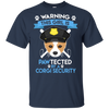 This Girl Is Pawtected By Corgi Security T Shirt