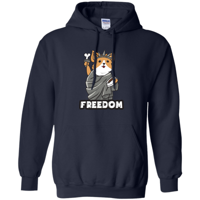 Interesting Black Presents For Collection Corgi T Shirt Freedom