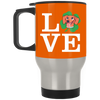 Nice Dachshund Mug - Love Dachshund, is a cool gift for friends