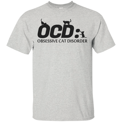 Obsessive Cat Disorder Funny Cute T Shirt Gift For Cat Lovers