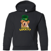 Nice Labrador T Shirt - Wanna Get Lucky, is a cool gift for friends