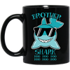 Deep Sea Lovely Color Brother Shark Mug