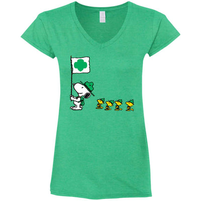 Girl Scout Snoopy Troop T Shirt