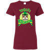Nice Pitbull T Shirt - Irish For A Day, is a cool gift for friends