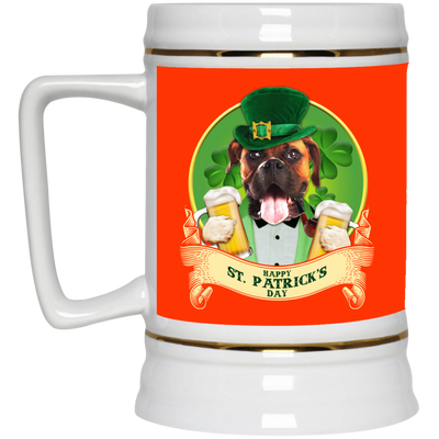Nice Boxer Mug - Happy St Patrick's Day, is a cool gift for you