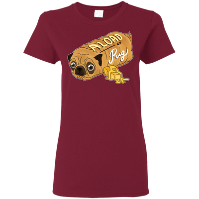 Nice Pug T Shirt - A Loaf Of Pug Ver 2, is a cool gift for friends