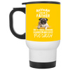 Nice Pug Black Mug - It Takes Someone Special To Be Pug Daddy