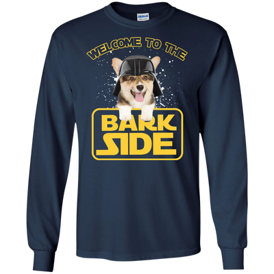 Amazing Corgi Tshirts Welcome To The Bark Side T Shirt