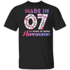 Age - Made In 07 13 Years Of Being Awesome T-shirt