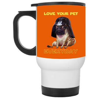 Nice Pug Mug - National Love Your Pet Star War Style, nice gift