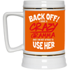 Funny Family Mug - Back Off I Have A Crazy Gramma, is a cool gift