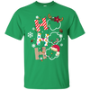 Ho Ho Ho Scouting With Led In Snow T Shirt