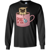 Pug Of Tea Pug T Shirt