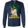 Nice Greyhound T Shirt - Wanna Get Lucky, is a cool gift for friends