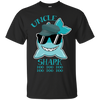 Deep Sea Lovely Color Uncle Shark T Shirt